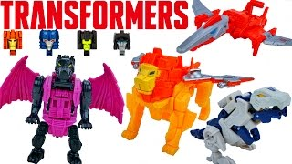 Transformers Titans Return One Step Changers Titan Masters Wave 3 Autobots Decepticons Toys