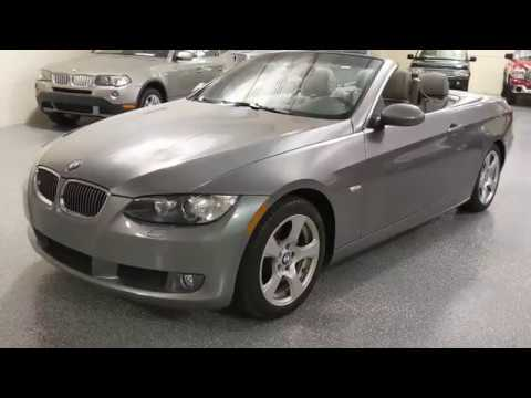 2009 Space Grey Metallic /Gray Leather BMW 3-Series 328i Convertible (WBAWL13509P) with an 3.0L L6 DOHC 24V engine, Automatic transmission, located at 603 Amelia Street, Plymouth, MI, 48170, (734) 459-5520, 42.378841, -83.464546 - Photo #0