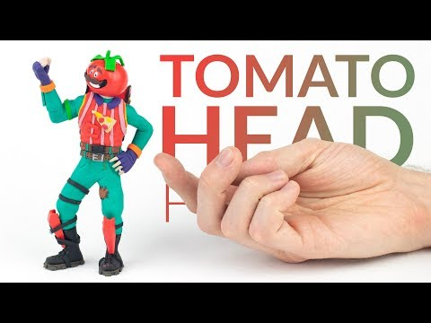 Tomato Head (Fortnite Battle Royale) – Polymer Clay Tutorial