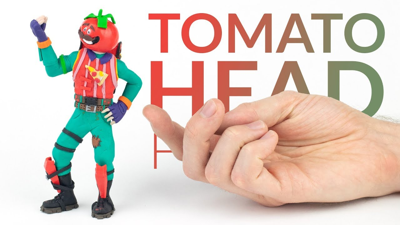 Tomato Head Fortnite Battle Royale Polymer Clay