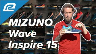 Mizuno Wave Inspire 15 - NEW Shoe Review! | First Look