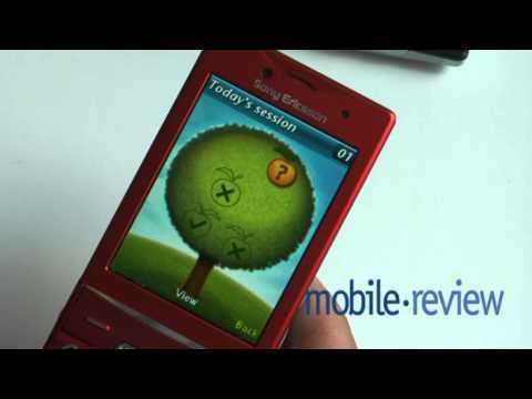 Sony Ericsson Hazel J20 Demo