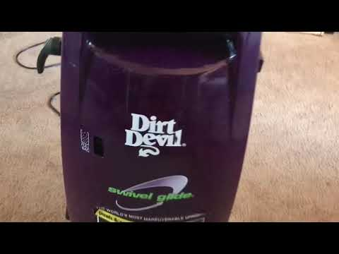 Review and demo 2002 and 2003 dirt devil swivel glide 086355