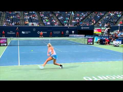 Genie Bouchard 2013 Rogers Cup Hot Shot