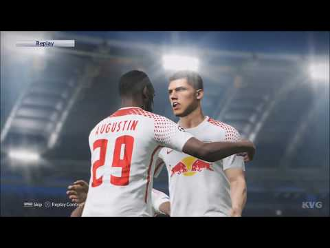 PES 2018 - RB Leipzig vs SSC Napoli - UEFA Europa League Gameplay (PS4 HD) [1080p60FPS]