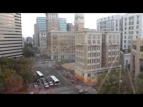 Oakland Tribune time-lapse