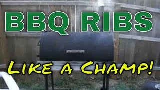 » » Cook Baby Back Ribs Recipe » » Like A Champ! » » How To Bbq Barbecue Barbeque