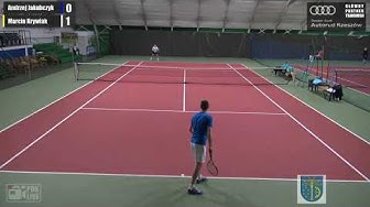 TENIS NA ŻYWO: Mistrzostwa Polski Lekarzy w tenisie ziemnym - Stalowa Wola 2019 (PIĄTEK RANO)