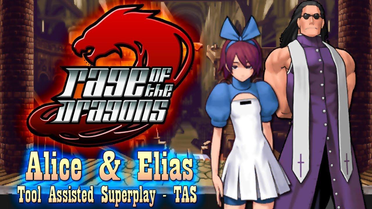 【TAS】RAGE OF THE DRAGONS - ALICE & ELIAS