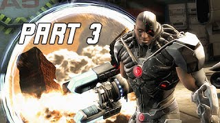 Injustice Gods Among Us Walkthrough Part 3 - Green Arrow & Cyborg (Let