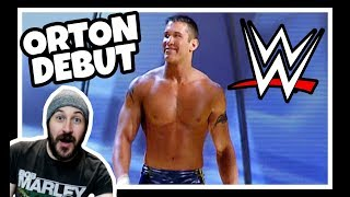 Reaction   Randy Orton - WWE Main Roster Debut & First RKO!!!