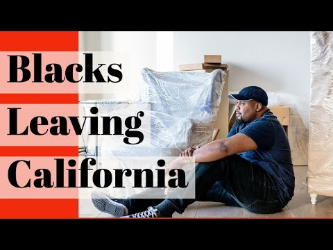 Black People Are Leaving California 5 States They Are Moving To