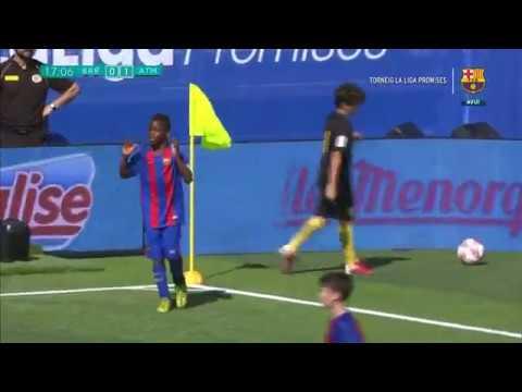 [ESP] FC Barcelona - At. Madrid, 2-1 (Semifinal LaLiga Promises 2017)