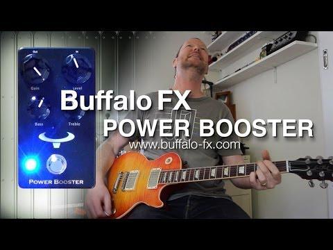 Buffalo FX: POWER BOOSTER - Demo