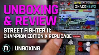 Unboxing & Review: Street Fighter II: Champion Edition x RepliCade