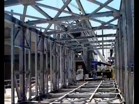 Roberto donna costruzione edificio in acciaio youtube - Casa in acciaio prezzo ...