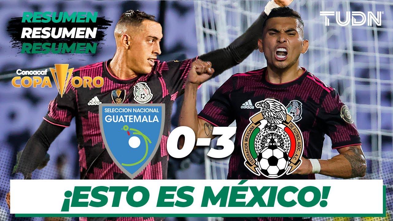 Recap: Mexico 3, Guatemala 0