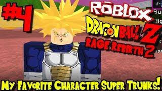 MY FAVORITE CHARACTER: SUPER TRUNKS! | Roblox: Dragon Ball Rage Rebirth 2 - Episode 4