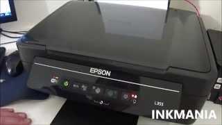 Erro Led tinta Epson L355 fixa, não imprime mais, como resolver?
