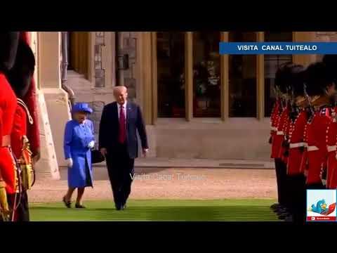 Los Trump irritan a Isabel II despreciando el protocolo