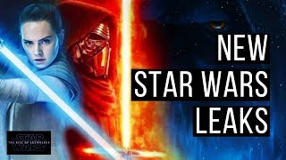 NEW STAR WARS EPISODE 9 LEAKS! More Palpatine, Kylo, & Rey!