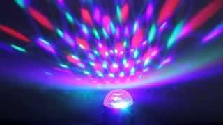 Диско шар светодиодный цветомузыкальный Party Light