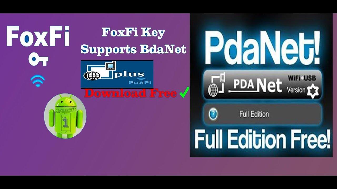 How to Unlock PdaNet+ Full Version (Download FoxFi Key)