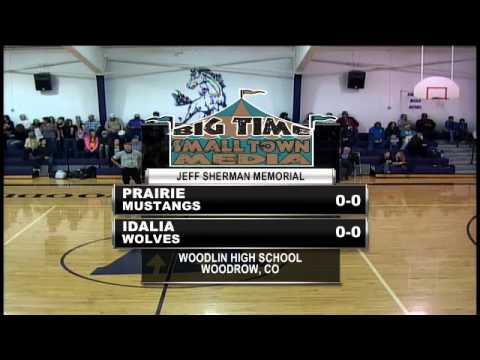 Boys Basketball - Idalia vs. Prairie (Jeff Sherman Memorial)
