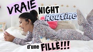 Ma VRAIE Night Routine de Rentrée !!!