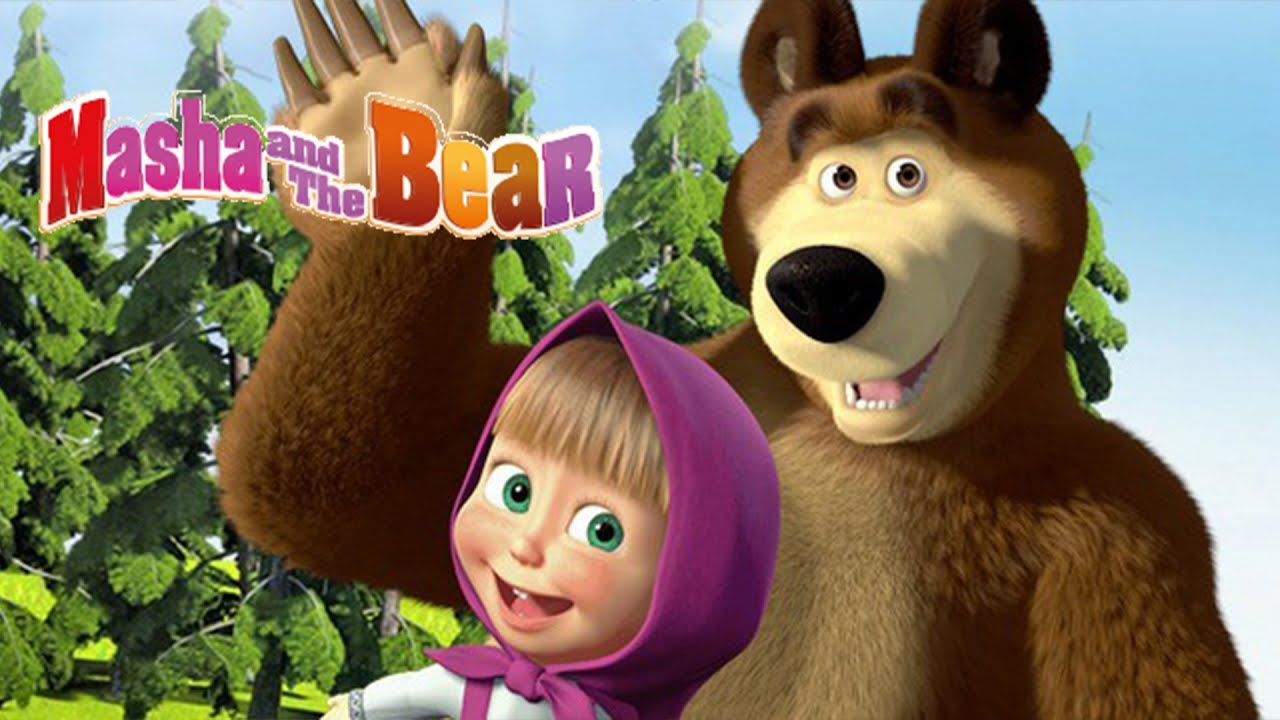 Masha And The Bear Game For Kids On Android App For
