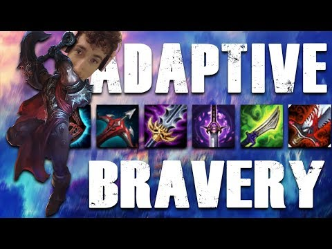 First item Last Whisper is good here...said no one ever?  Adaptive BRAVERY Challenge!