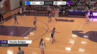Fayetteville High School AR Girls Basketball  MaxPreps VS RHS
