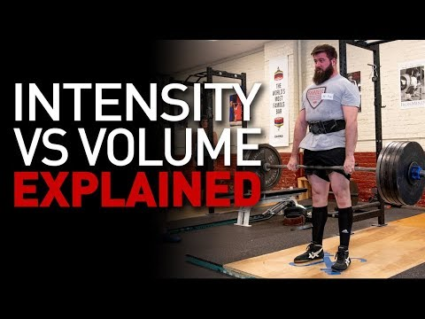 Intensity vs Volume A Healthy Relationship