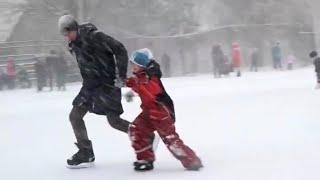Зимние развлечения в новогодние каникулы | Зимний спорт
