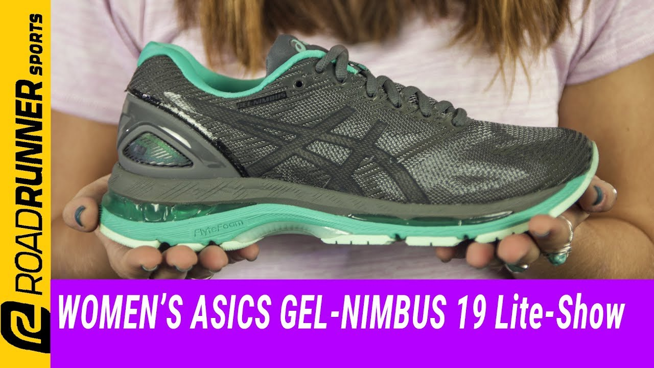 finest selection 086a2 04f33 Women's ASICS GEL-Nimbus 19 Lite-Show | Fit Expert Review