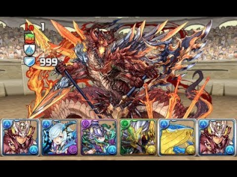 [Puzzle and Dragons] May Quest Dungeon - Lv10 - No RCV (Mizutsune Hunter)