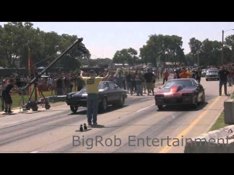 StreetOutlaws TheBlackBird vs Dragula