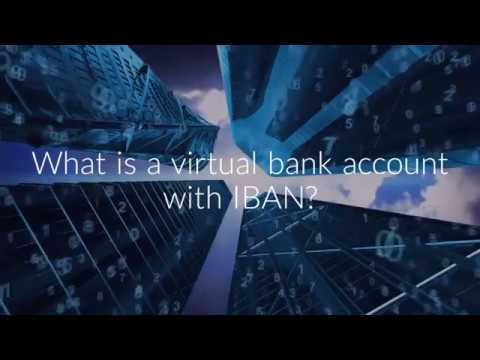 What is a virtual bank account with IBAN