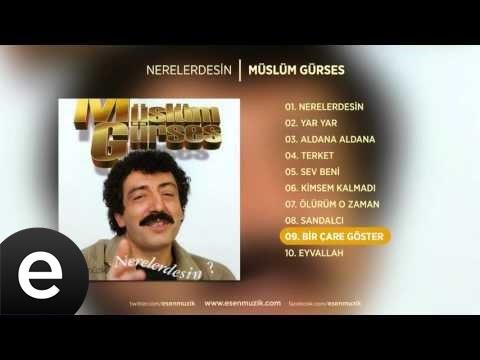 Bir Çare Göster (Müslüm Gürses) Official Audio #birçaregöster #müslümgürses