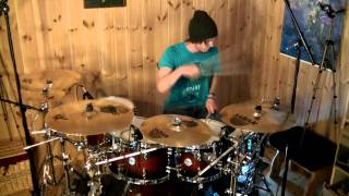 H-blockx - Countdown To Insanity [Drum Cover]