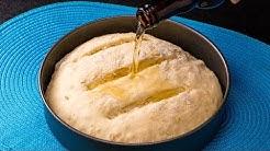 Gießen Sie das Bier in das Mehl und Sie erhalten das beste hausgemachte Brot| Schmackhaft.tv