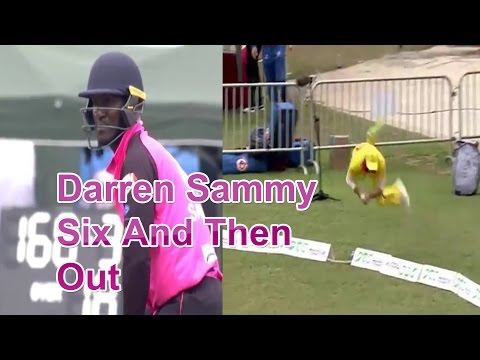 Sammy SIX and Then catch OUT Hong Kong T20 Blitz 2017