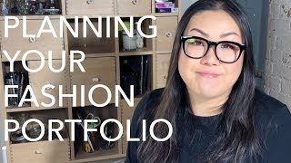 Fashion Portfolios 1: Planning What to Design