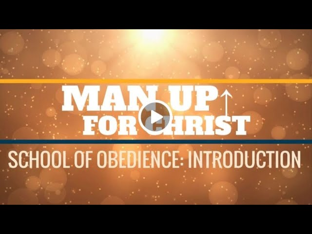 Man Up For Christ