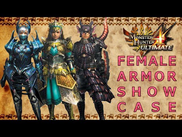 Female Armor Monster Hunter 4 Ultimate