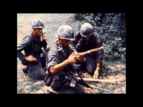 Vietnam War: 1/503 of 173rd Infantry On Patrol in September 1970