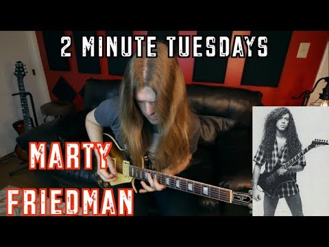 2 Minute Tuesday - Marty Friedman ( With Tabs)