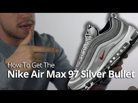 Martyr telescope Scrutiny  How to Get The Nike Air Max 97 Silver Bullet & Quick Unboxing Review -  YouTube