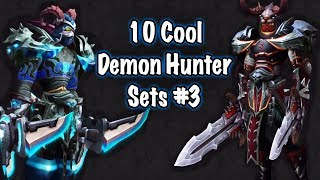 Jessiehealz - 10 Cool Demon Hunter Transmog Sets #3 (World of Warcraft)