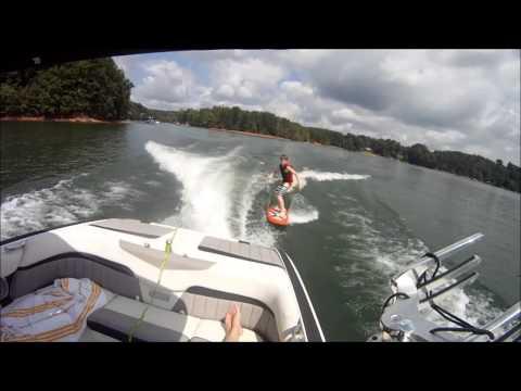 Wakesurfing Malibu 24 MXZ